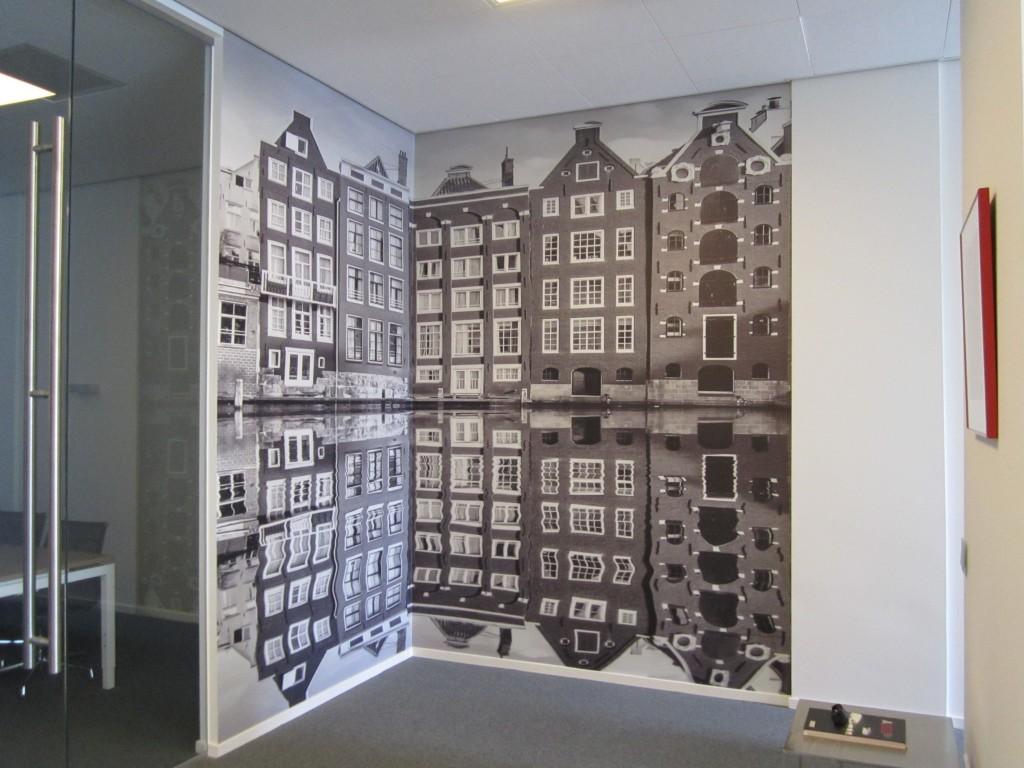 Foto Op Wand.Wand Decoratie Hdv Signmakers Airtex Behangmateriaal